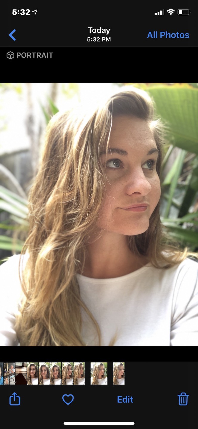 Portrait mode on iPhone: Examples