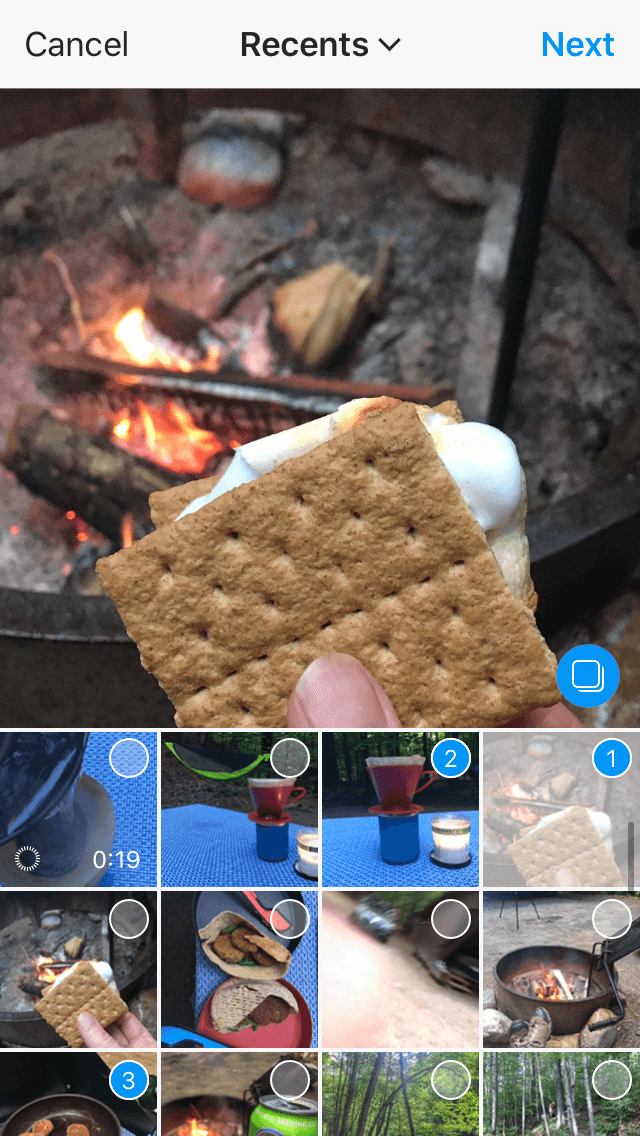 Add Multiple Photos to Instagram Story