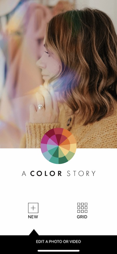 A Color Story, one of the best apps to use with Instagram