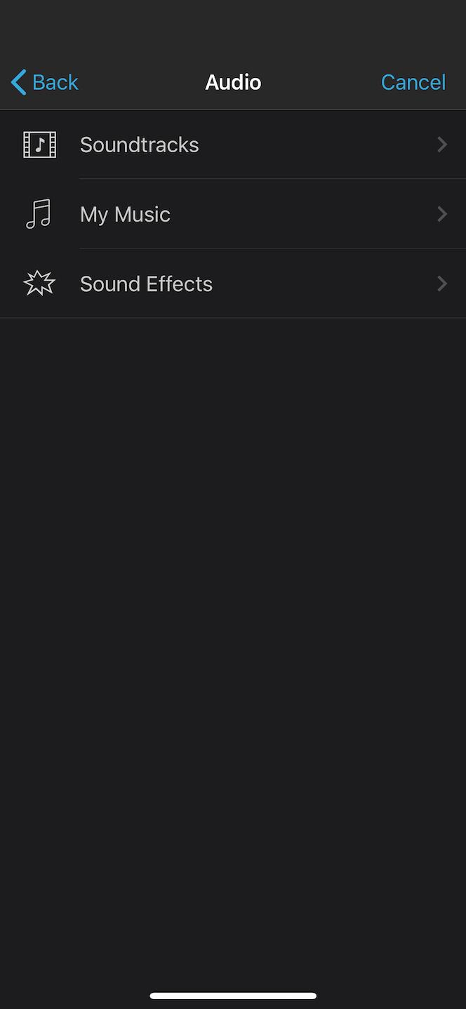 How to add iMovie sound effects