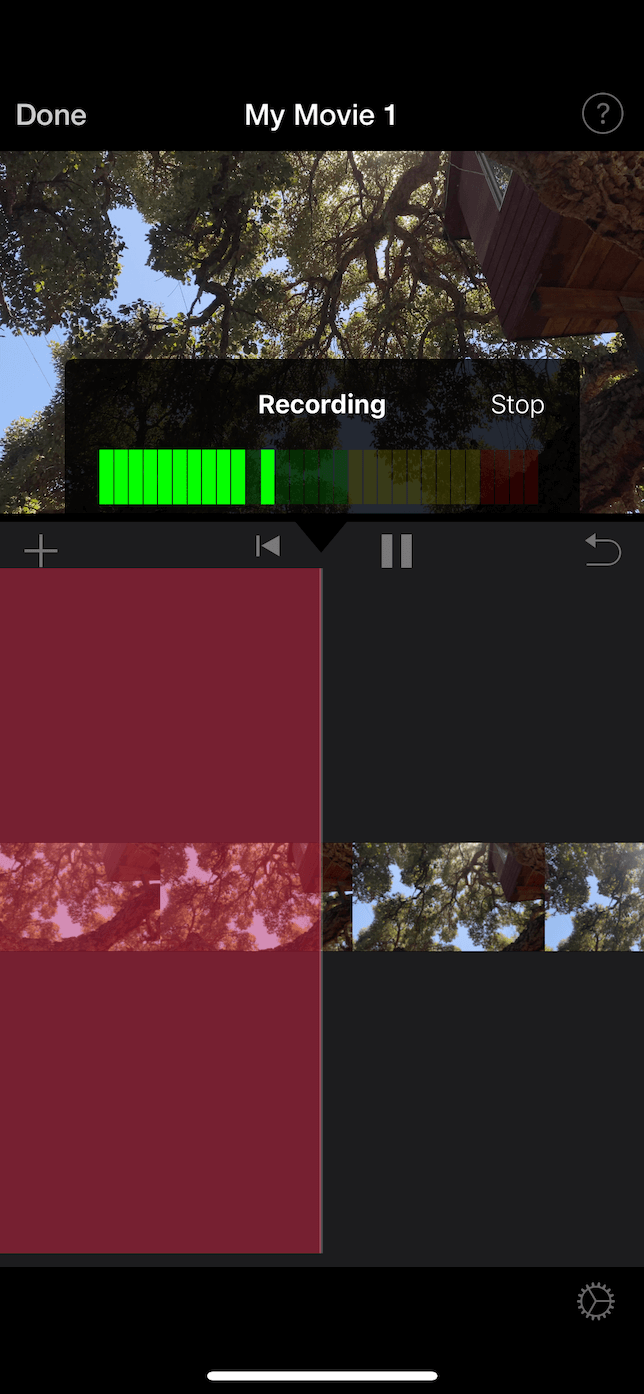 How to add voiceover in iMovie