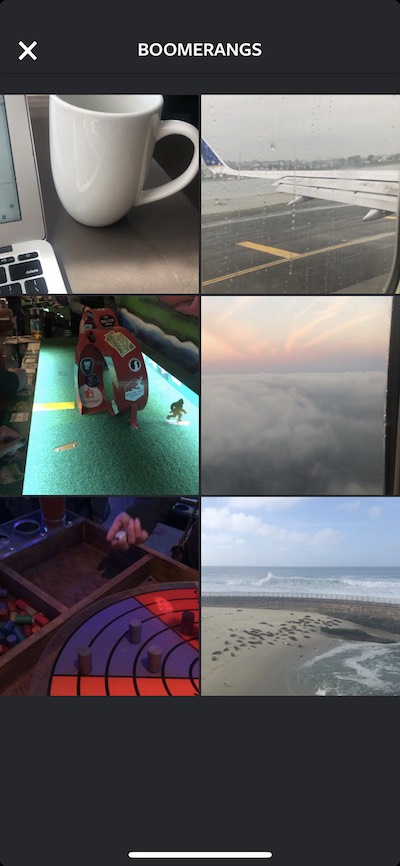 Boomerang for Instagram, an app to create looped videos