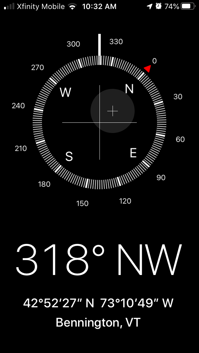 Photography for beginners: Use the iOS compass