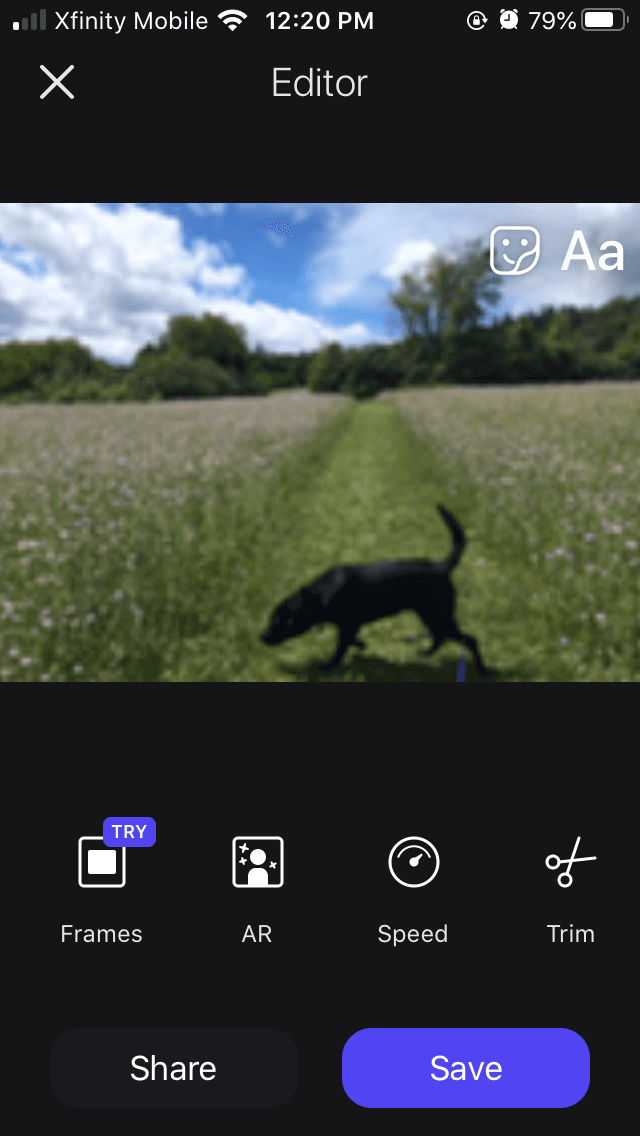 Momento, the best GIF maker app for iPhone