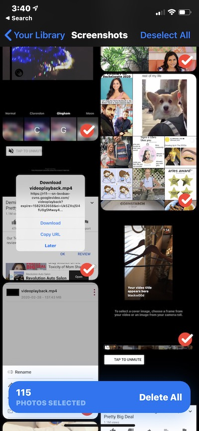 Gemini Photos, an indispensable photo cleaner for Instagrammers