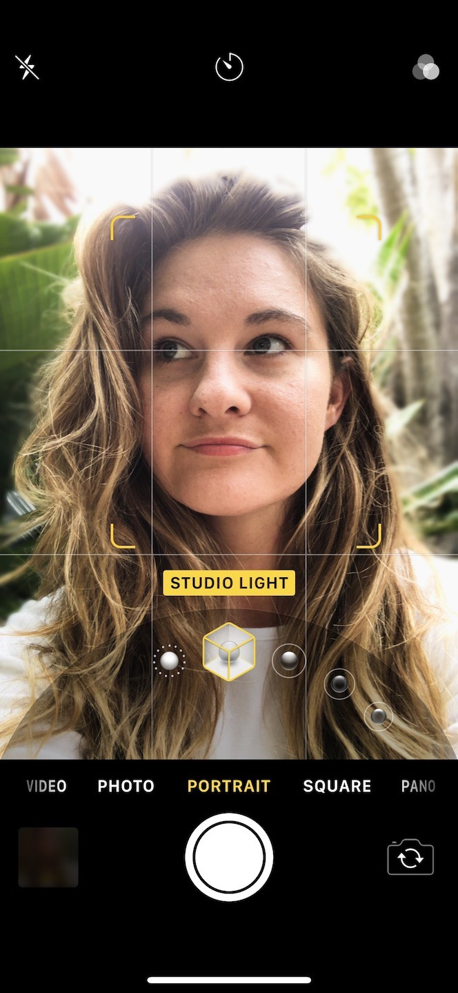 How to use different light types in iPhone Portrait mode