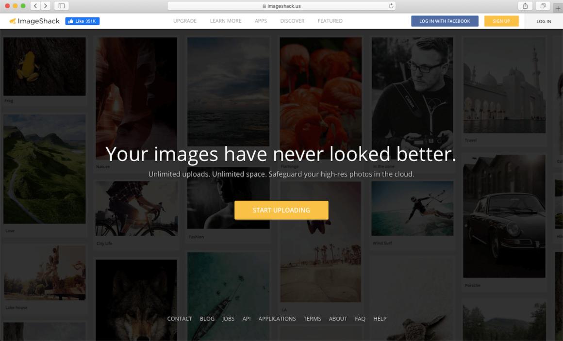 ImageShack, a website to share images online