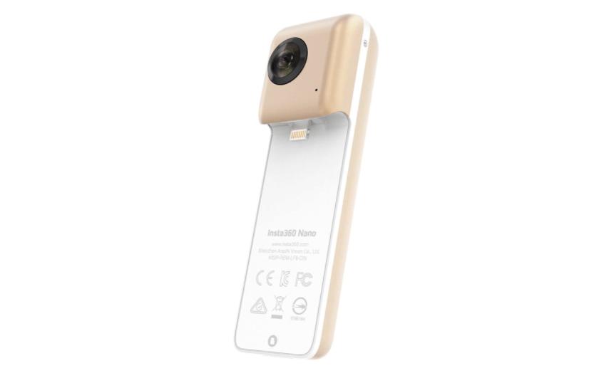 Insta360, a compact iPhone camera lens