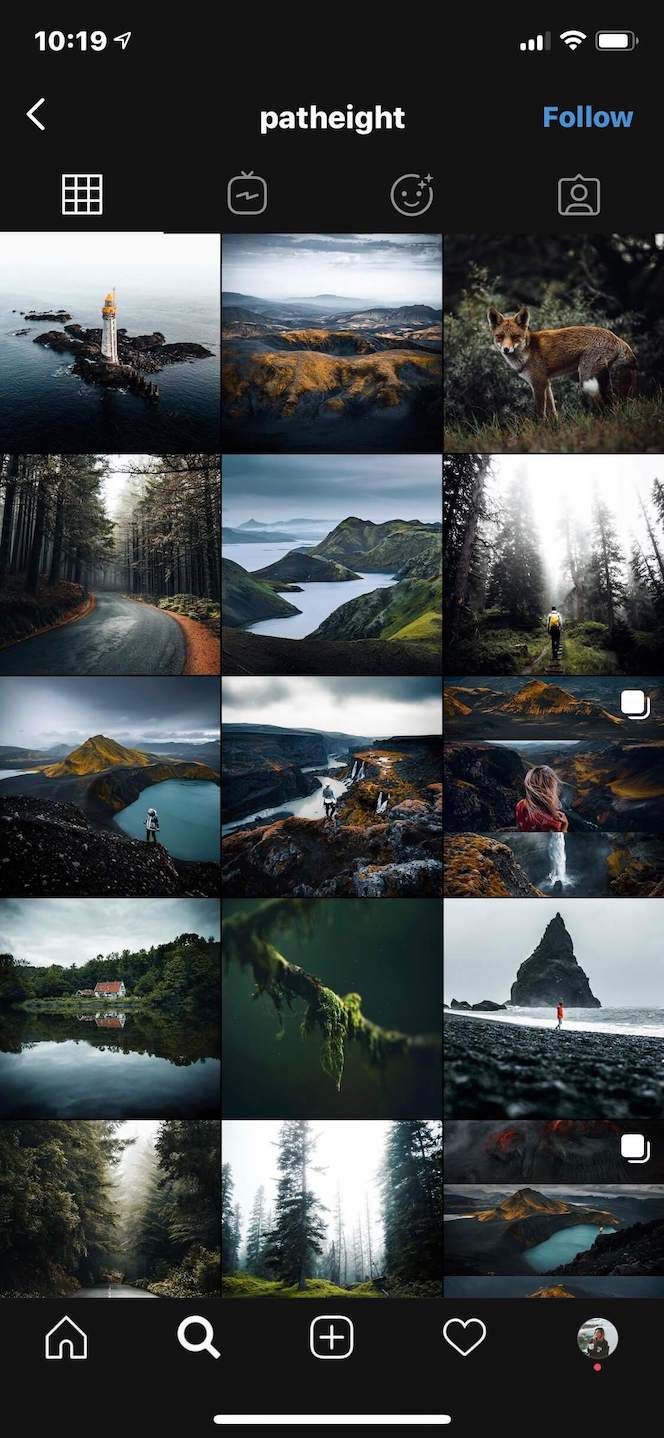 IF profile photo tips: Match your feed's theme