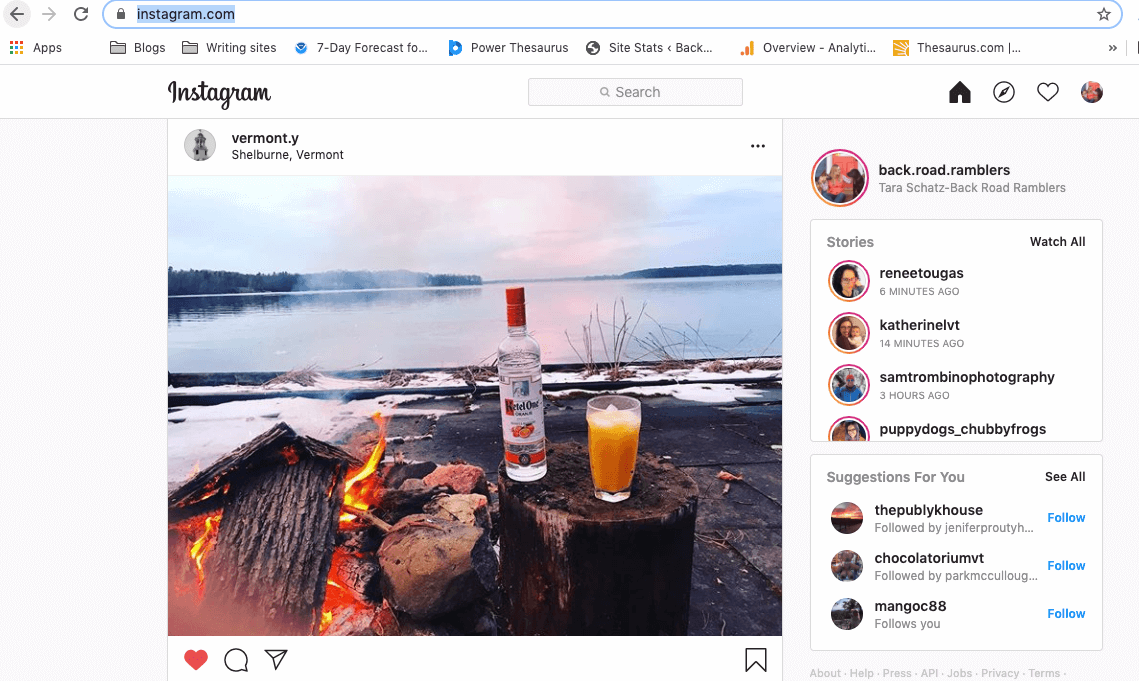 How to post to Instagram from Mac on the website