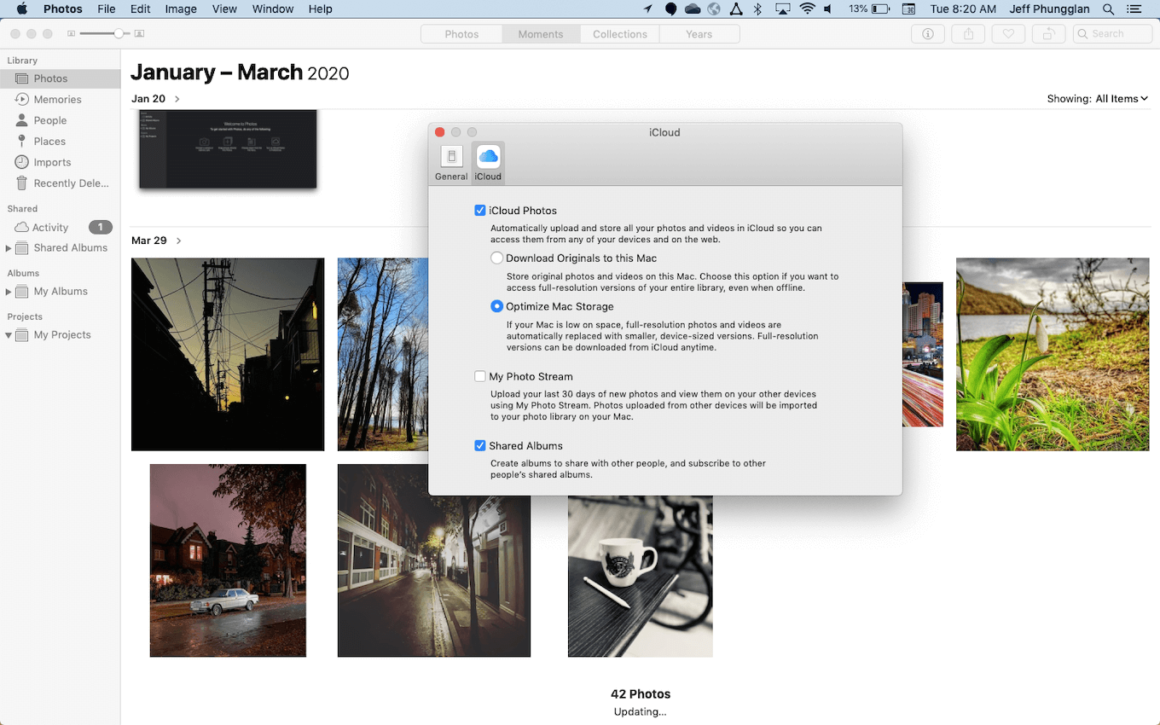 How to sync photos from Mac to iPhone with iCloud