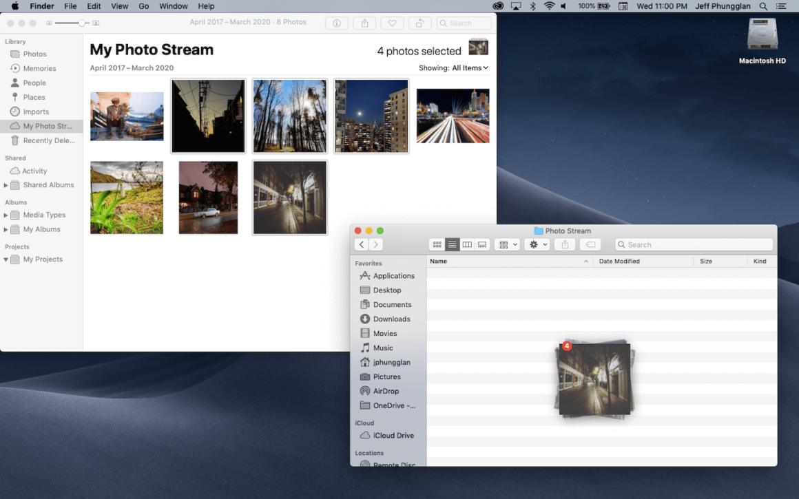 How to add photos to My Photo Stream on Mac