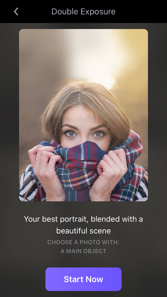 How to superimpose photos on iPhone with Enlight Photofox