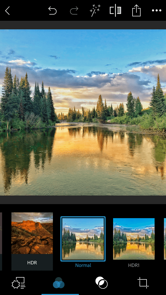 Photoshop Express, the most powerful iPhone photo editor app