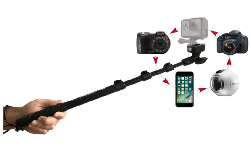 Quik Pod, a sport selfie stick for Apple iPhone