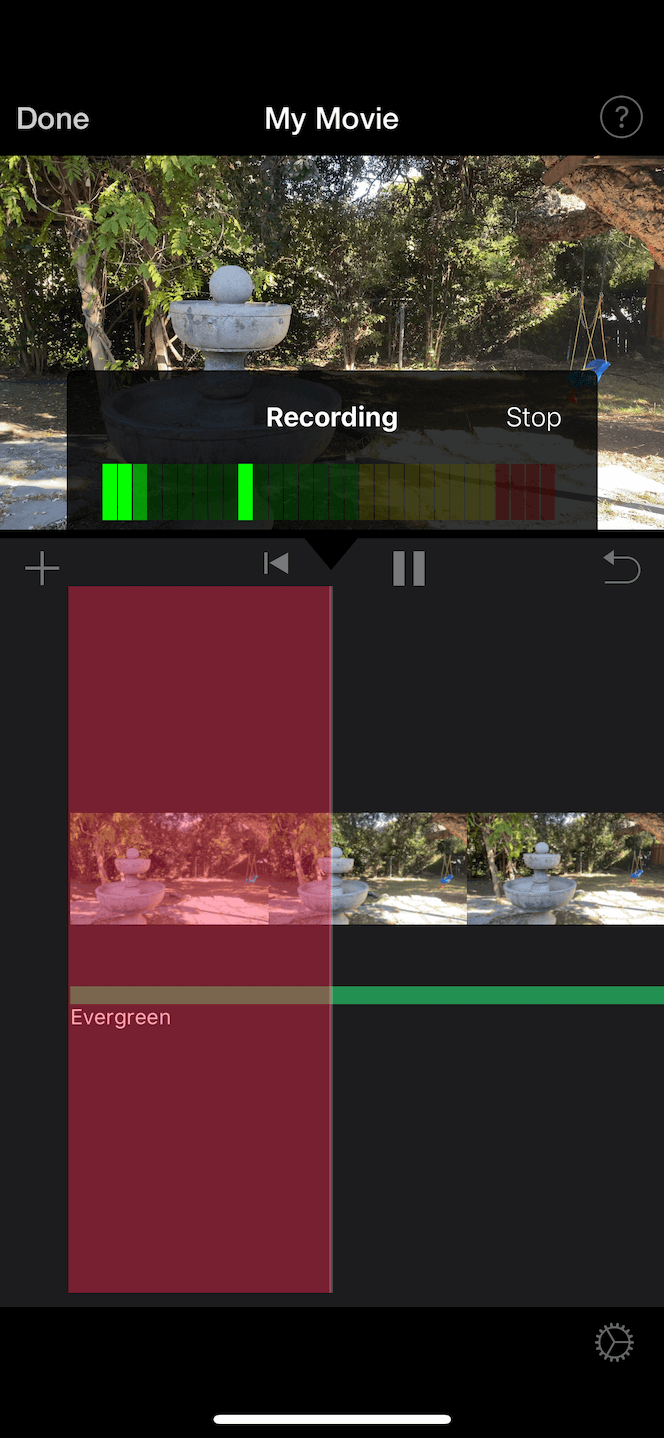 How to add voiceover to iMovie
