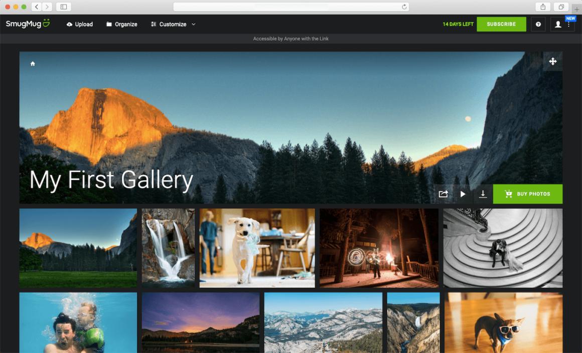 SmugMug, one of the 20 best photo sharing websites