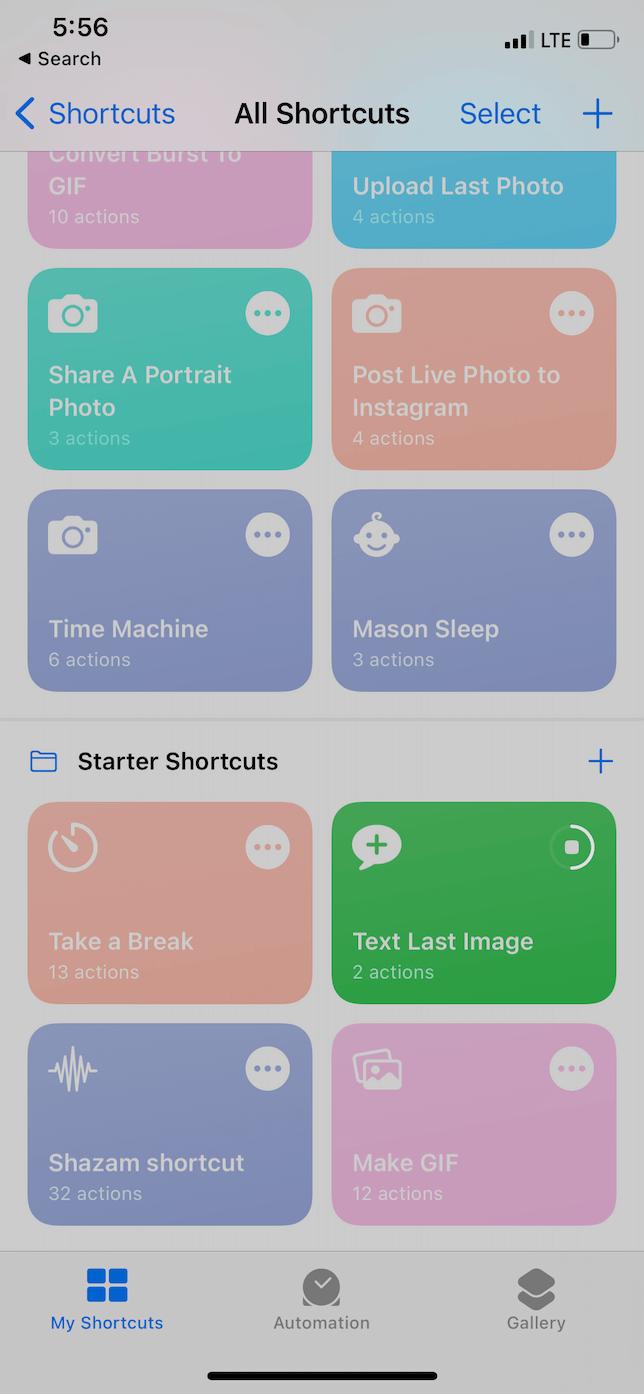 Best iPhone shortcuts: Text Last Image