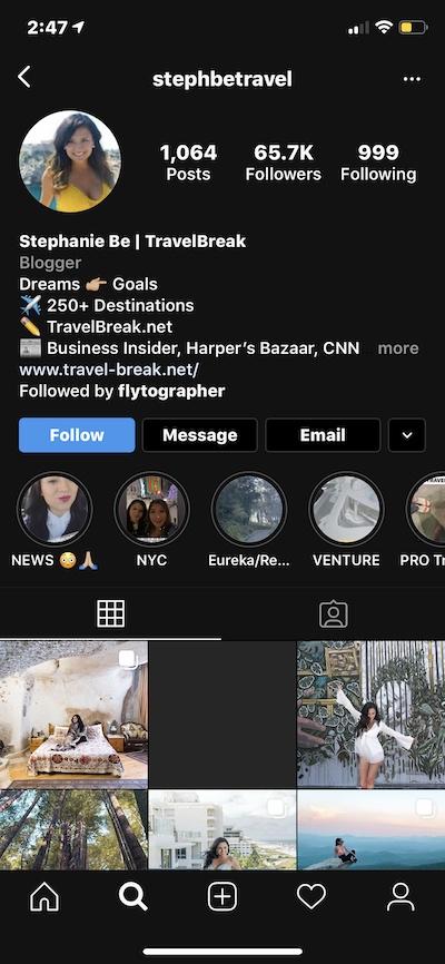 Use emoji to liven up your Instagram bio