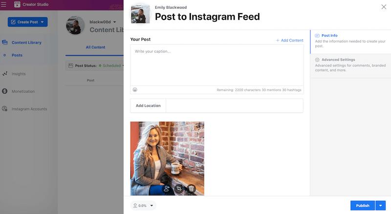 How to use Creator Studio, the free Instagram scheduler