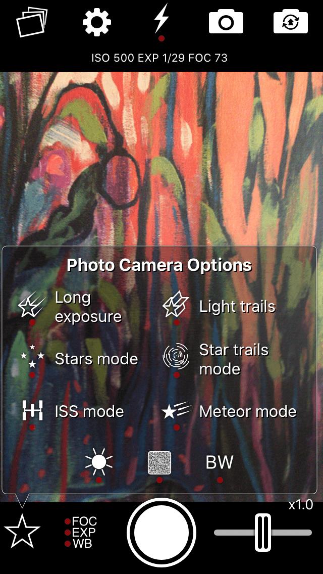 NightCap, a great night camera app for iPhone