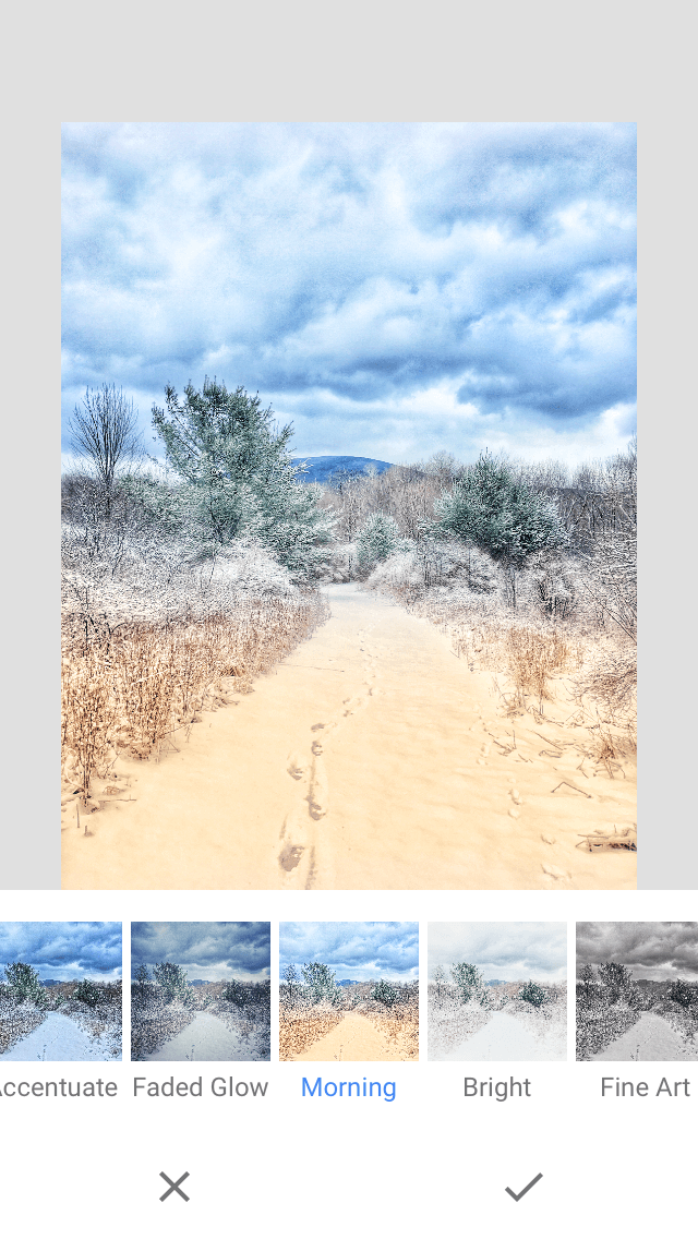 Snapseed, one of the best editing apps for iPhone photographers