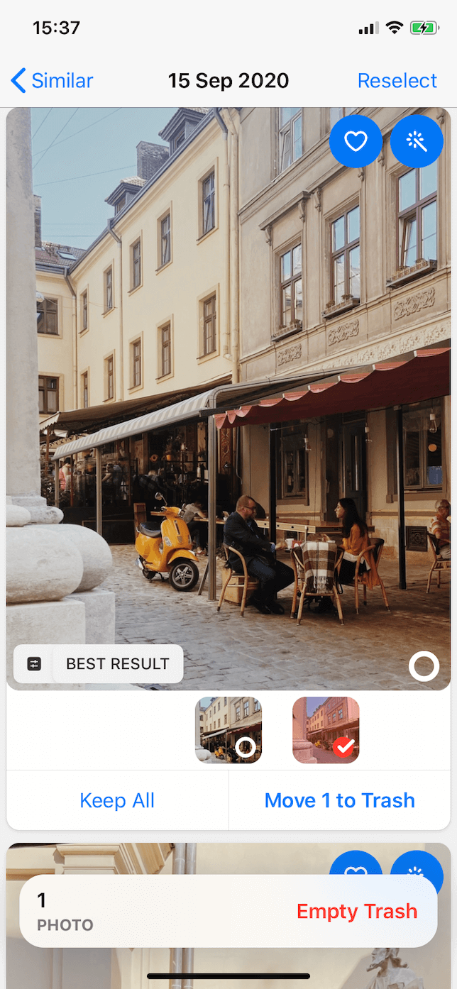 How to declutter photos with Gemini Photos