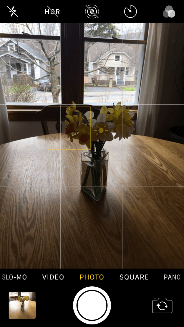 How to turn on HDR on iPhone