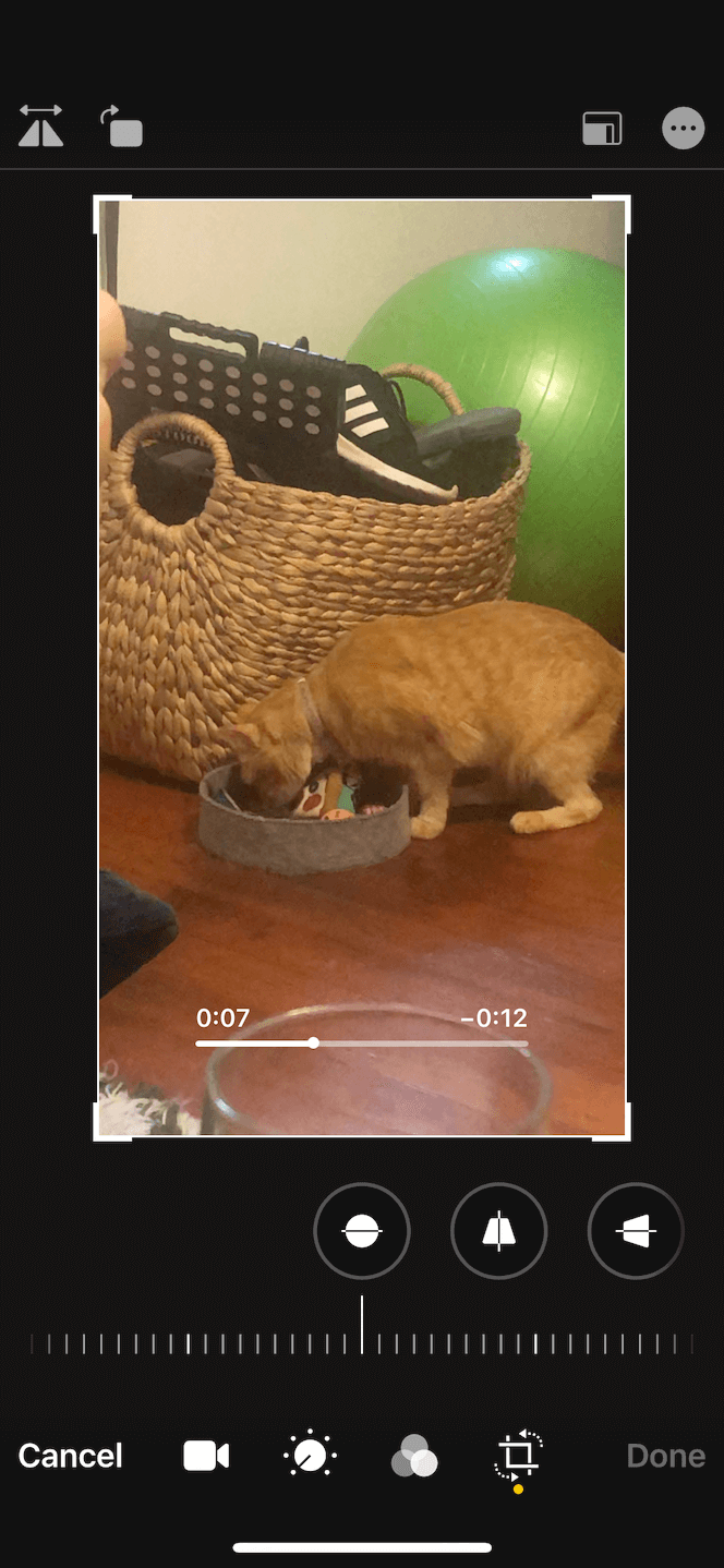 How to crop a video for Instgaram