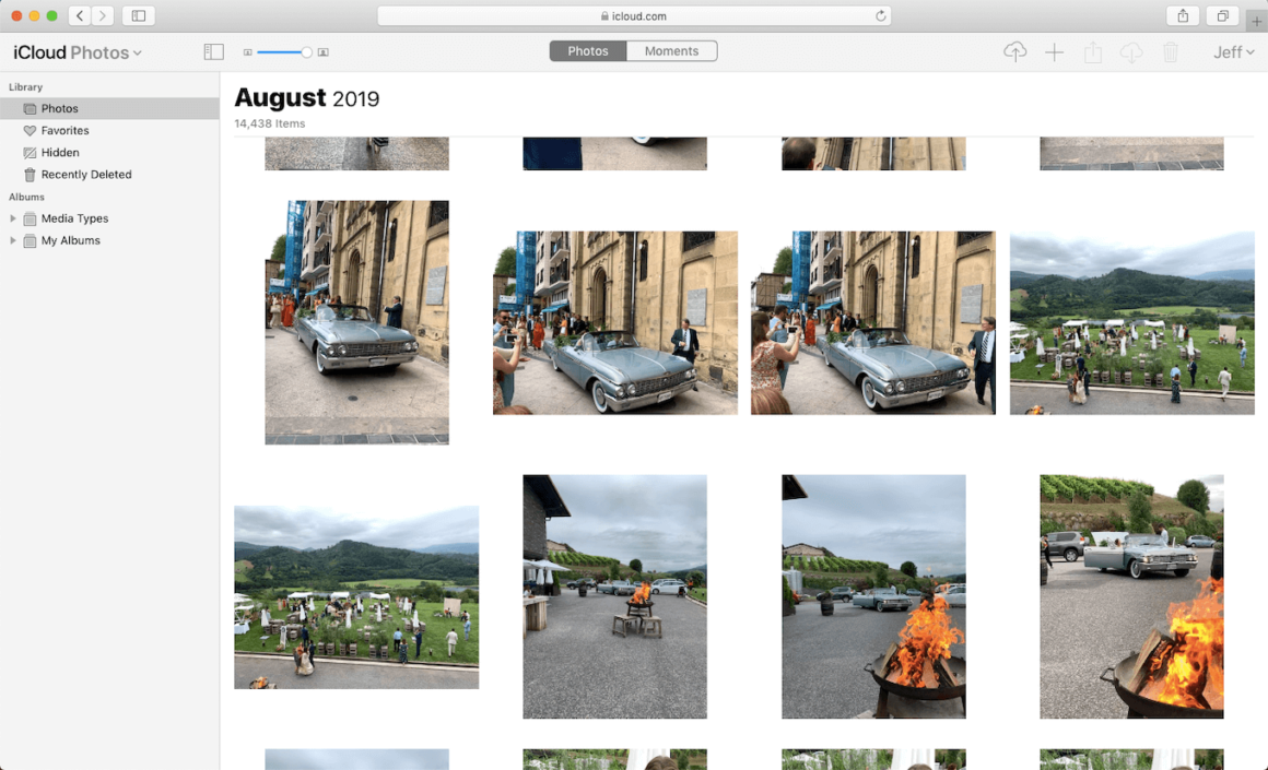 iCloud Photos, the best photo sharing app for iPhone users