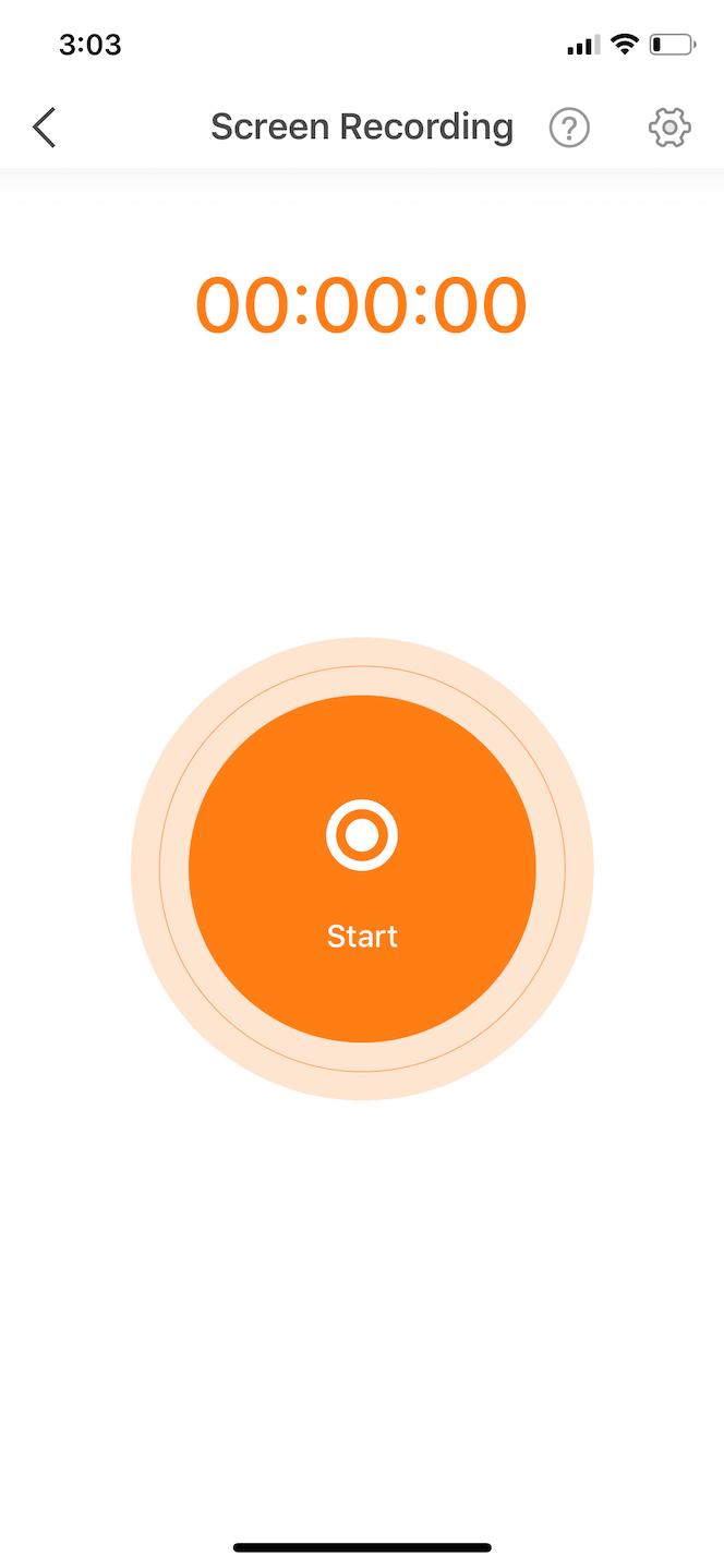 DU Recorder, a screen video app