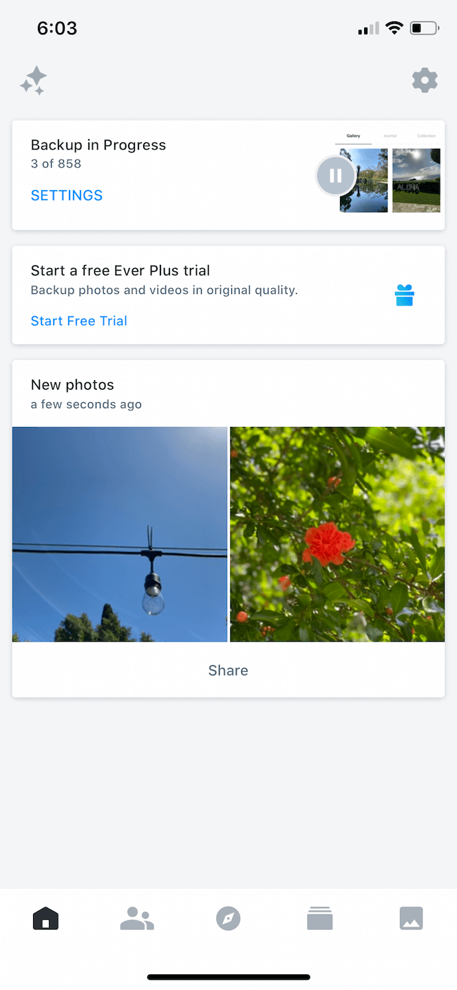 Ever, the best photo sharing app for iPhone