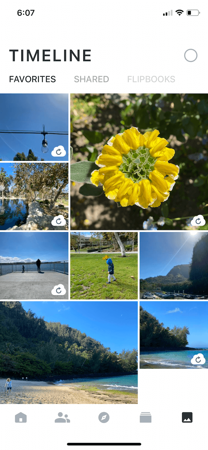 Ever, a photo sharing app for iOS