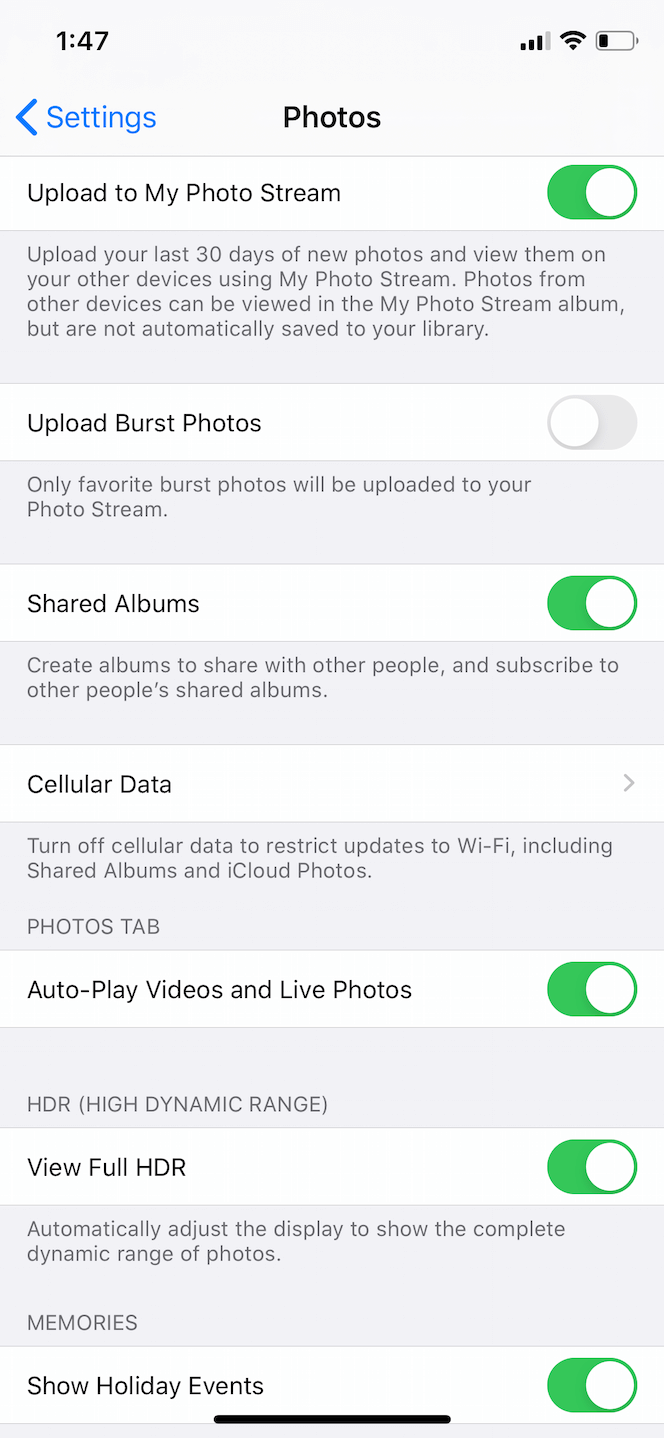 How to upload photos to iCloud Photo Stream