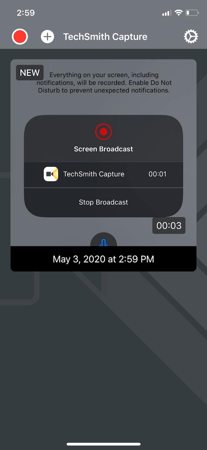 TechSmith Capture, an advanced screen recording app