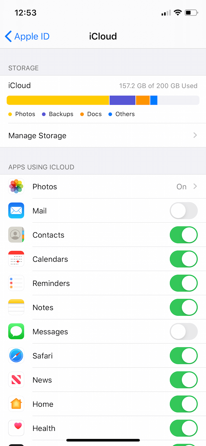 How to switch on My Photo Stream on iPhone