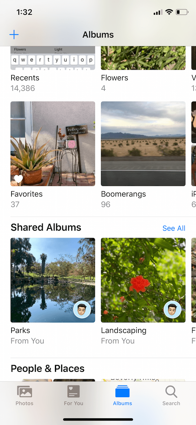 How to find your shared photo album on iPhone