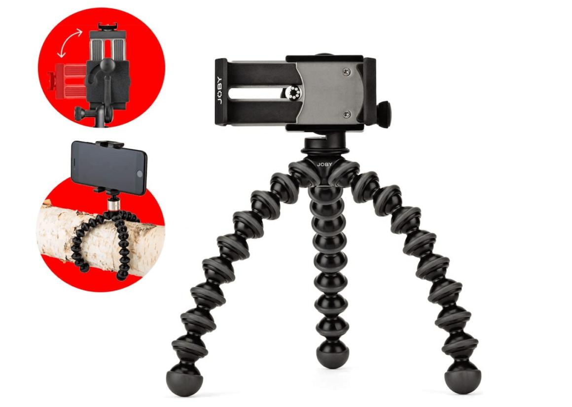 Joby Gorillapod, a great flexible iPhone tripod mount