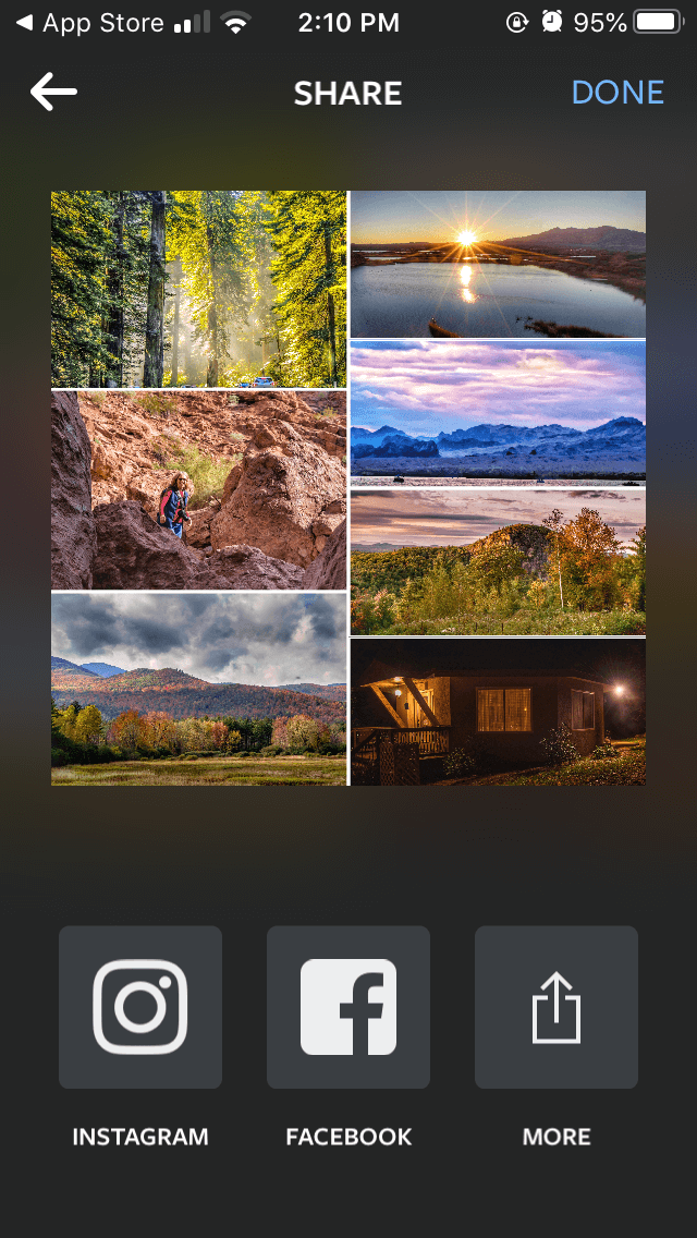 How to design a photo collage with Layout