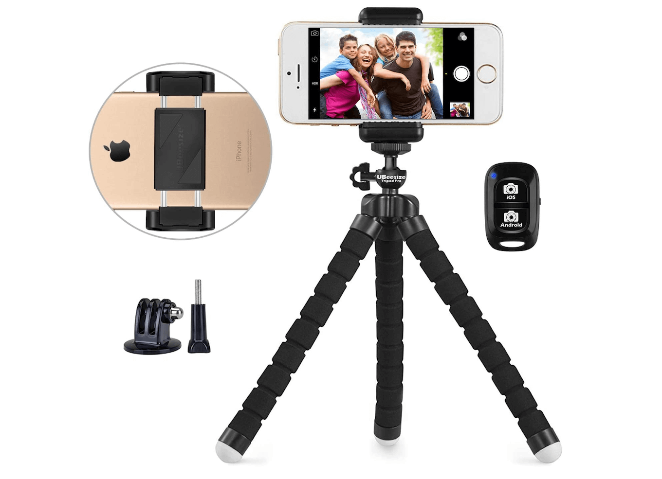 Ubeesize, one of the best iPhone camera stands
