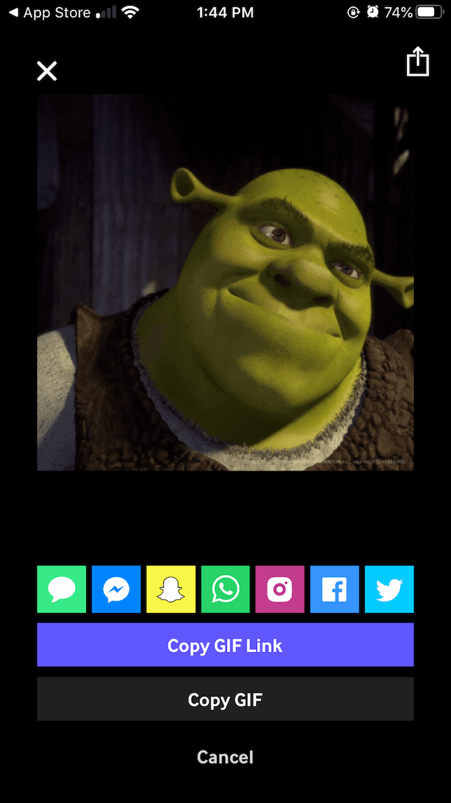 How to post to Instagram from Giphy