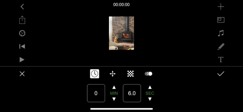 Screenshot showing Flimmaker Pro