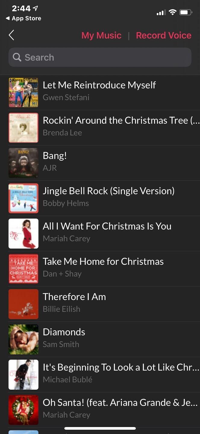 Second screenshot showing Pick Music