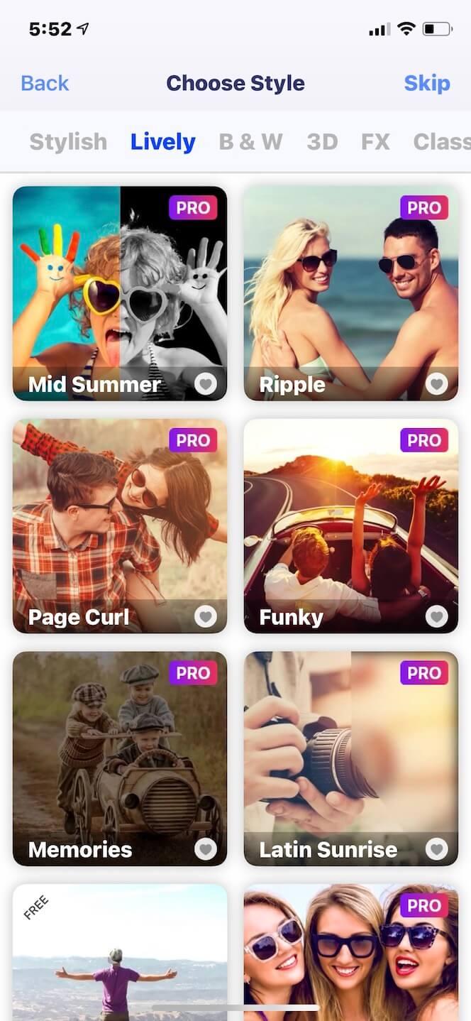 Second screenshot showing SlideShow Maker Music Fx