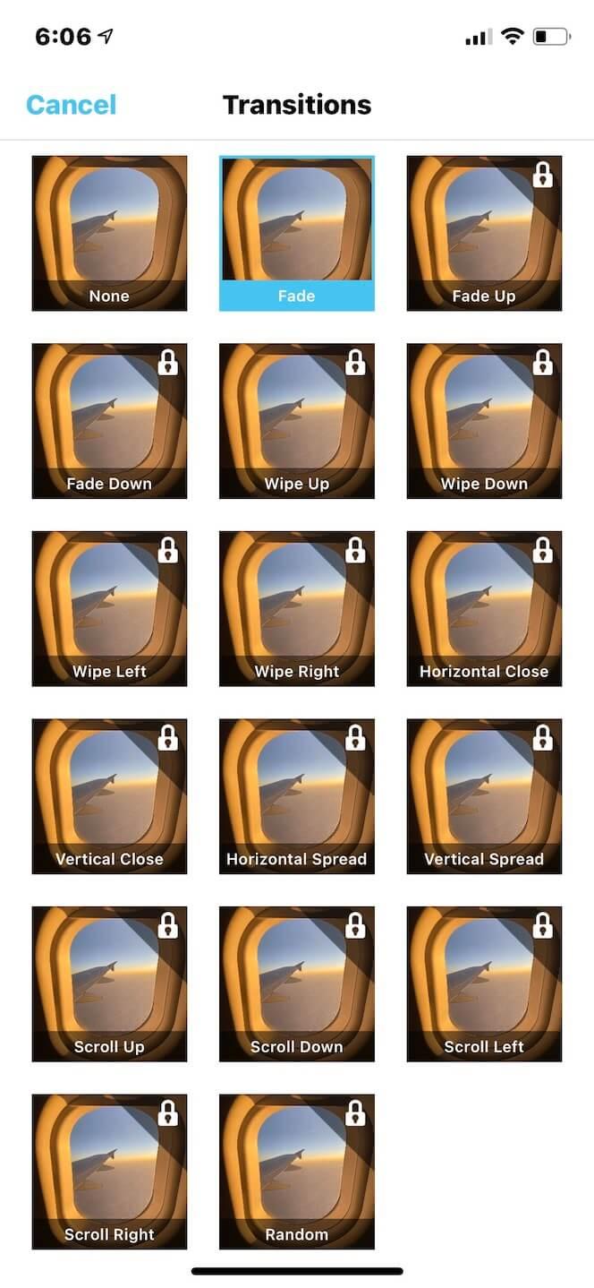 Second screenshot showing SlideShow Video Maker