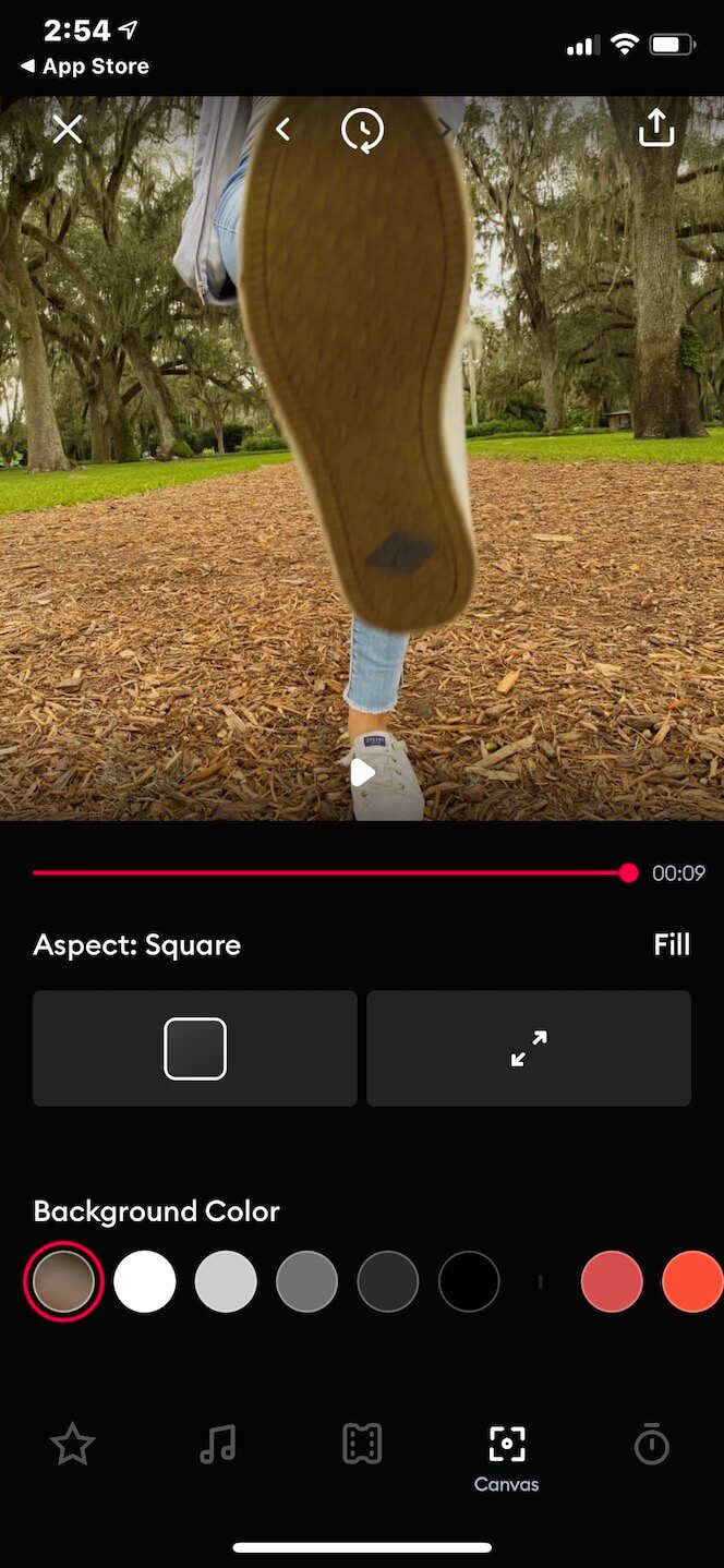 Second screenshot showing SlideShow Video Maker App