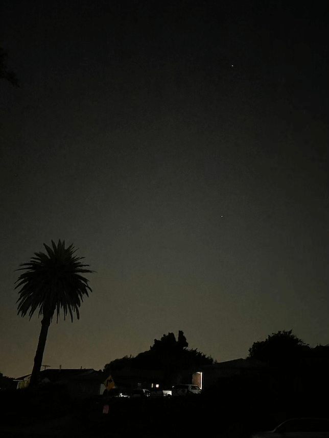 Ultra-wide pictures with Night mode turned off.