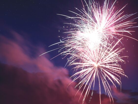 How to photograph fireworks like a pro with just your iPhone: Header image.