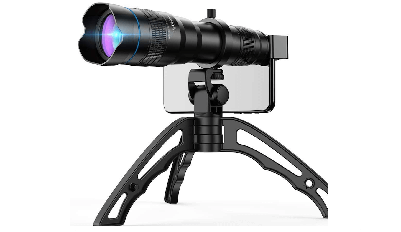 Picture of the Apexel High Power 36X HD Telephoto Lens.